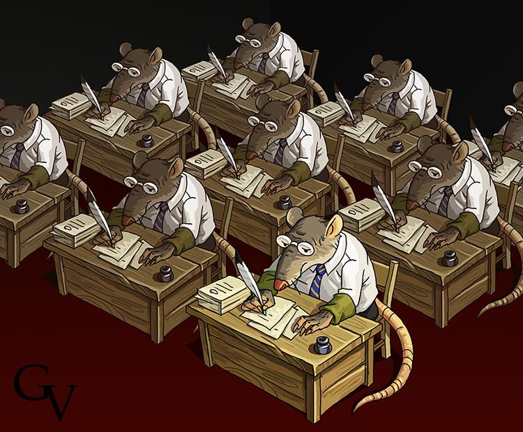 чертежи офисная крыса картинки отважно